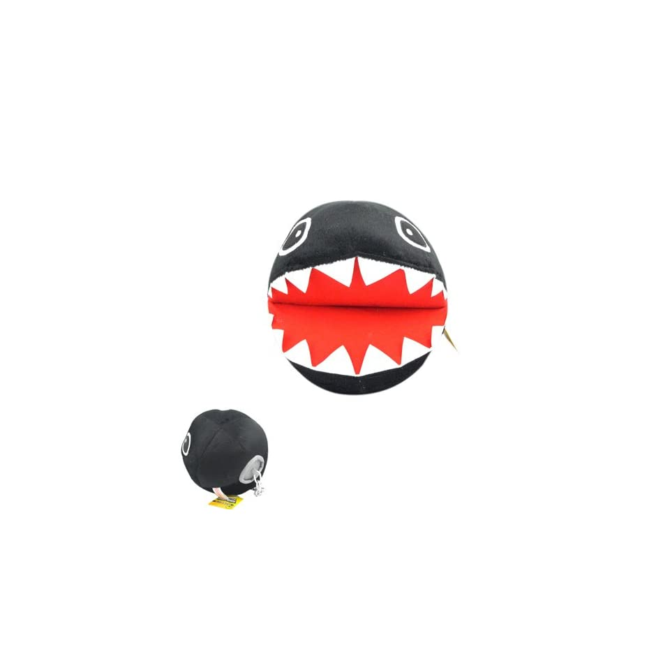 Nintendo Super Mario Bros Chain Chomp 8 Plush Doll BK