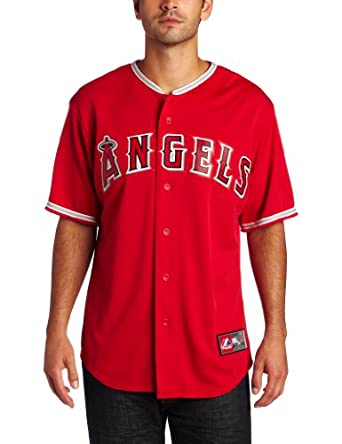 MLB Los Angeles Angels Alternate Replica Jersey, Red by Majestic