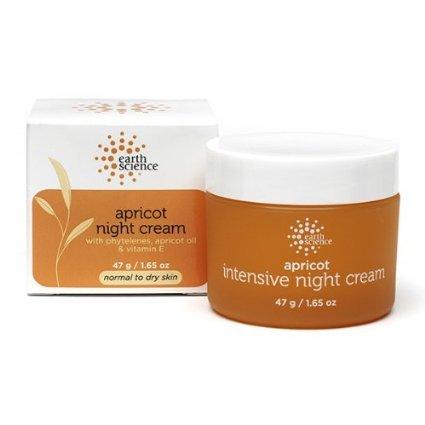 Earth Science Apricot Facial Night Cream, 1.65 Ounce -- 3 Per Case