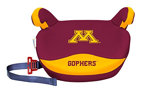 NCAA Minnesota Golden Gophers Slimline No Back Booster Seat, 30-110 lb., Multi