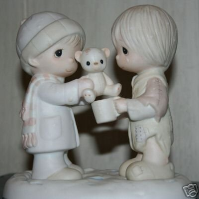 Precious Moments Figurine - Christmastime Is