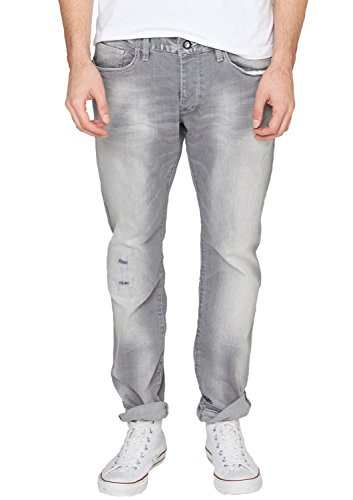 s.Oliver Denim Herren Slim Jeans 40.502.71.3637, Gr. 38/L36 (Herstellergröße: 38), Grau (grey 93Z3)