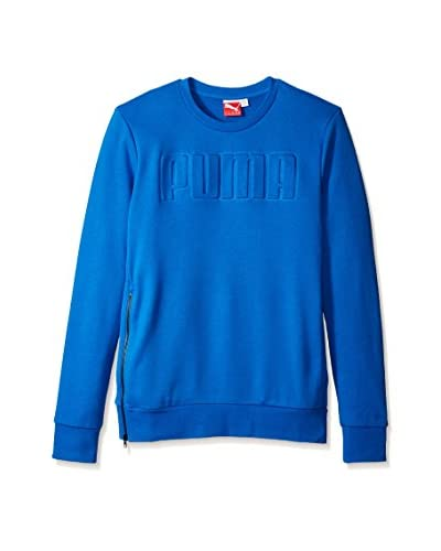 PUMA Men's Crew Sweat Long Sleeve Top