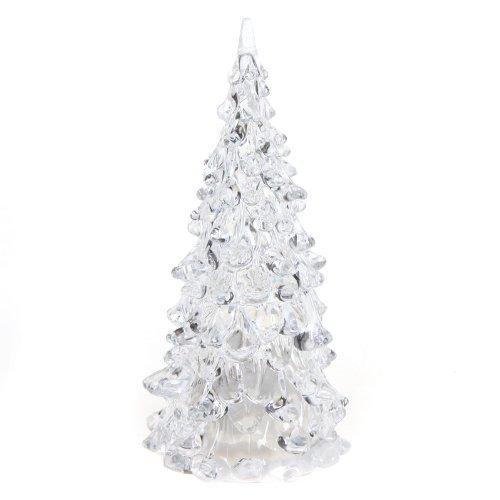 Color Changing Icy Crystal LED Christmas Tree Decoration Night Light Lamp - 1