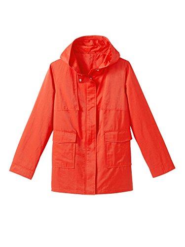 Balsamik - Parka con cappuccio - donna - Size : 50 - Colour : Rosso