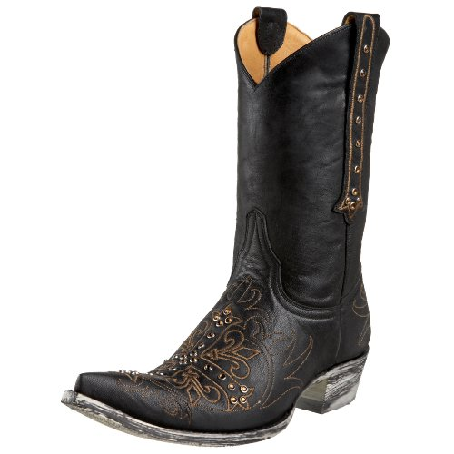 Old Gringo Women's Milagros Fashion Cowboy Boot,Black,9.5 M US