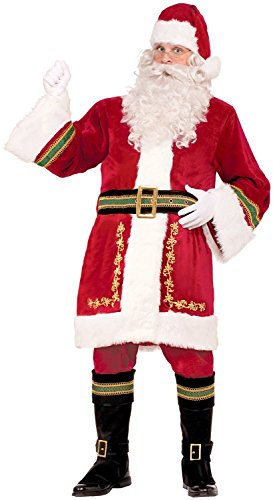 Forum Novelties Men's Premium Classic Santa Claus Costume