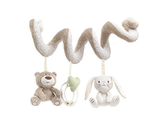 Bear Baby Crib Toy From Crib Critter/ Wrap Around Crib Rail Toy/ Stroller Toy
