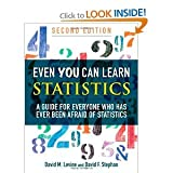 Even You Can Learn Statistics 2nd (second) edition byLevine