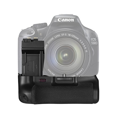 Powerextra Battery Grip Replacement Canon BG-E8 Grip for Canon Eos 550D 600D 650D 700D Rebel T2i T3i T4i T5i SLR Cameras (T4i Battery Grip compare prices)