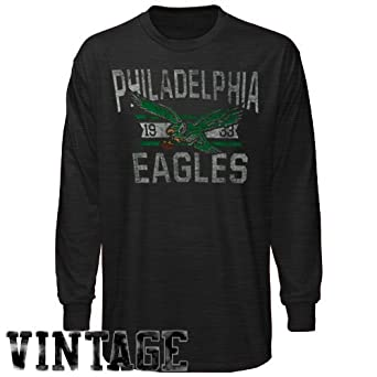 NFL Philadelphia Eagles Vintage Long Sleeve Scrum T-Shirt by