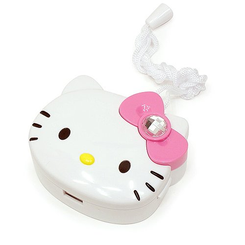 Hello Kitty (Q-01) Portable Mini Fan For Travel Operated For Cooling (Pink)