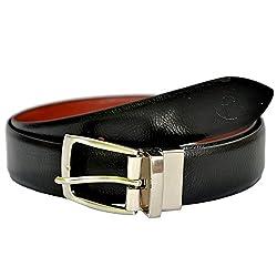 MOSPL Men's Leather Belt (OMBT3011_Black_42)