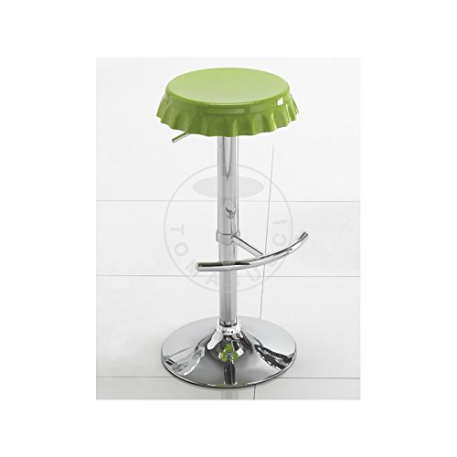 SET 2 SGABELLI BAR TAPPO GREEN