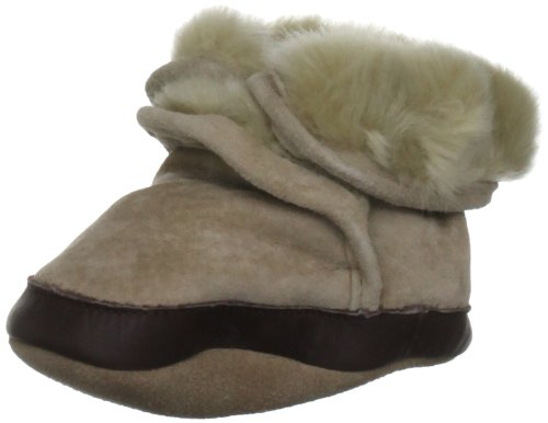 Robeez Soft Soles Cozy Boot (Infant/Toddler), Tan, 12-18 Months (4.5-6 M US Toddler)