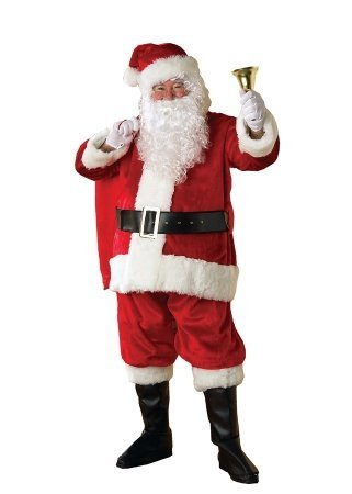 Costumes For All Occasions RU2380XL Extra Large Santa Premier Suit Adult