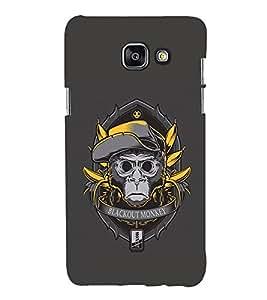 EPICCASE Blackout Monkey Mobile Back Case Cover For Samsung Galaxy A7 (2016) (Designer Case)