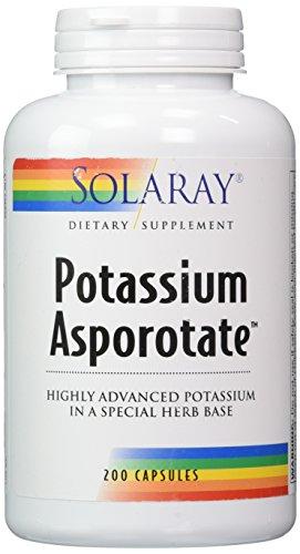 Solaray - Potassium Asporotate, 99 mg, 200 capsules (Solaray Potassium 99 Mg compare prices)