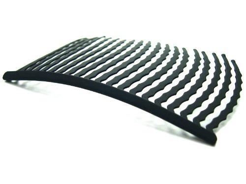 (リトルムーン) インナー ヘアアクセ コーム 20本櫛 -Pro- マットブラック 特許取得 時短 簡単 まとめ髪 盛り髪 夜会巻き ヘアアクセサリー 即日発送