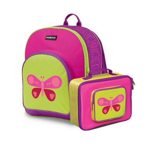 Crocodile Creek Butterfly Backpack Lunchbox