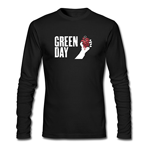 Pop Green Day For Mens Long Sleeves Outlet