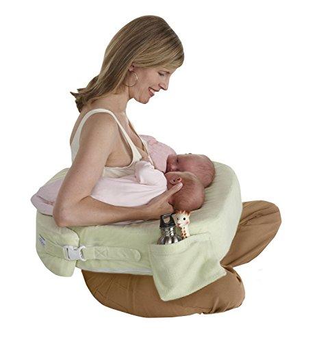 授乳クッション 双子用 【セレブが選んだ赤ちゃんのための授乳クッション】 日本正規品 マイブレストフレンド ツインズサポートクッション Twins Plus Deluxe Nursing Pillow (ツイン チョコレート)