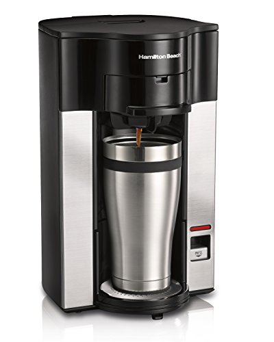 Hamilton Beach 49990 Stay Or Go Personal Cup Pod Coffeemaker front-254483