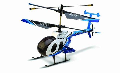Radio Controlled Hughes POLICE Helicopter with 2.4 Ghz digital radio system
