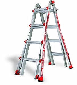 Little Giant 14013-001 Alta-One M-17 Ladder System, 250-Pound Duty Rating, 17-Foot