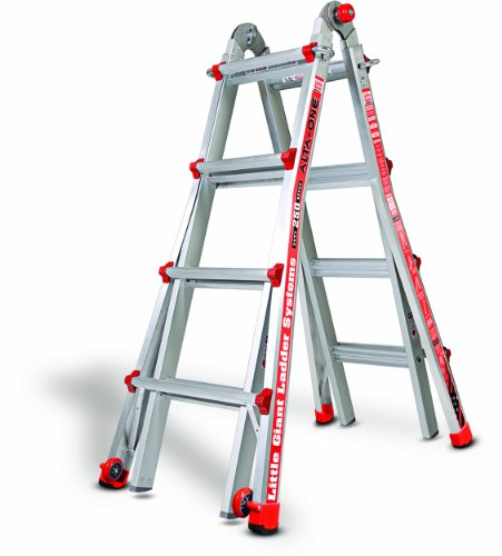 Little Giant 14013-001 Model 17 250 Lbs Capacity Alta-One Ladder, 15 Feet, (Little Models compare prices)