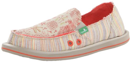 Sanuk Women'S Scribble Sidewalk Surfer,Tropical,6 M Us front-490252