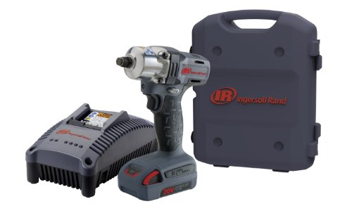 Ingersoll Rand W5150-K1 1/2-Inch Mid-Torque Impactool Kit With Charger, Li-Ion Battery And Case