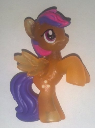 "My Little Pony Friendship Is Magic Sunny Rays & Collector Card # 18 Neon Bright 2"" PVC - 1"