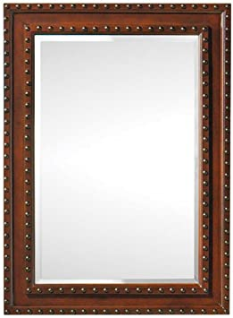 Harlow Mirror, 30Hx22Wx1D, DARK BROWN