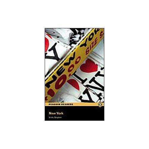 Peguin Readers 3:New York Book & CD Pack: Level 3 (Penguin Readers (Graded Readers))