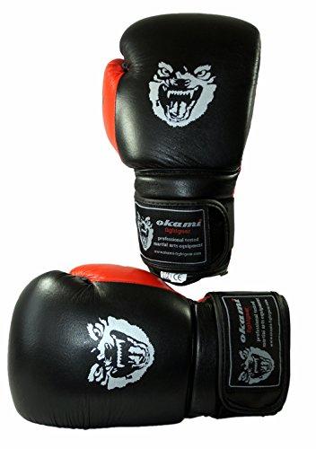 OKAMI Fightgear Boxhandschuhe Power Boxing Gloves