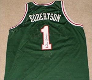 Oscar Robertson Autographed Signed Milwaukee Bucks #1 Jersey - Tristar Productions... by Sports Memorabilia