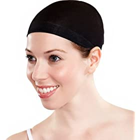 Wig Cap (Black) (One-Size)