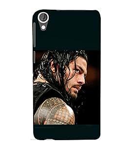 printtech Wrestler Roman Cool Back Case Cover for HTC Desire 820G+ dual sim