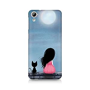Mobicture Girl Abstract Premium Designer Mobile Back Case Cover For HTC Desire 820