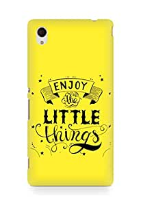 AMEZ enjoy the little things 2 Back Cover For Sony Xperia M4
