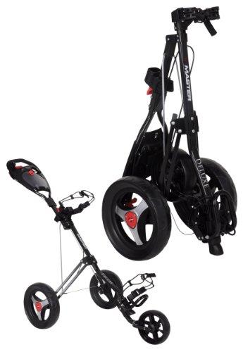 Legend Golf Trolley Tri Master deluxe 3 Rad Push Farbe: Black 2012 Golftrolley
