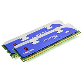 【クリックで詳細表示】Kingston 2GB 1066MHz DDR2 Non-ECC CL5 DIMM KHX8500D2/2G