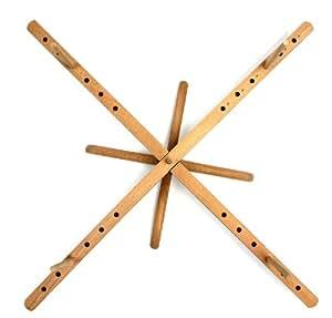 Stanwood Needlecraft Tabletop Amish Style Wooden Yarn Swift, 2.5-6-Feet