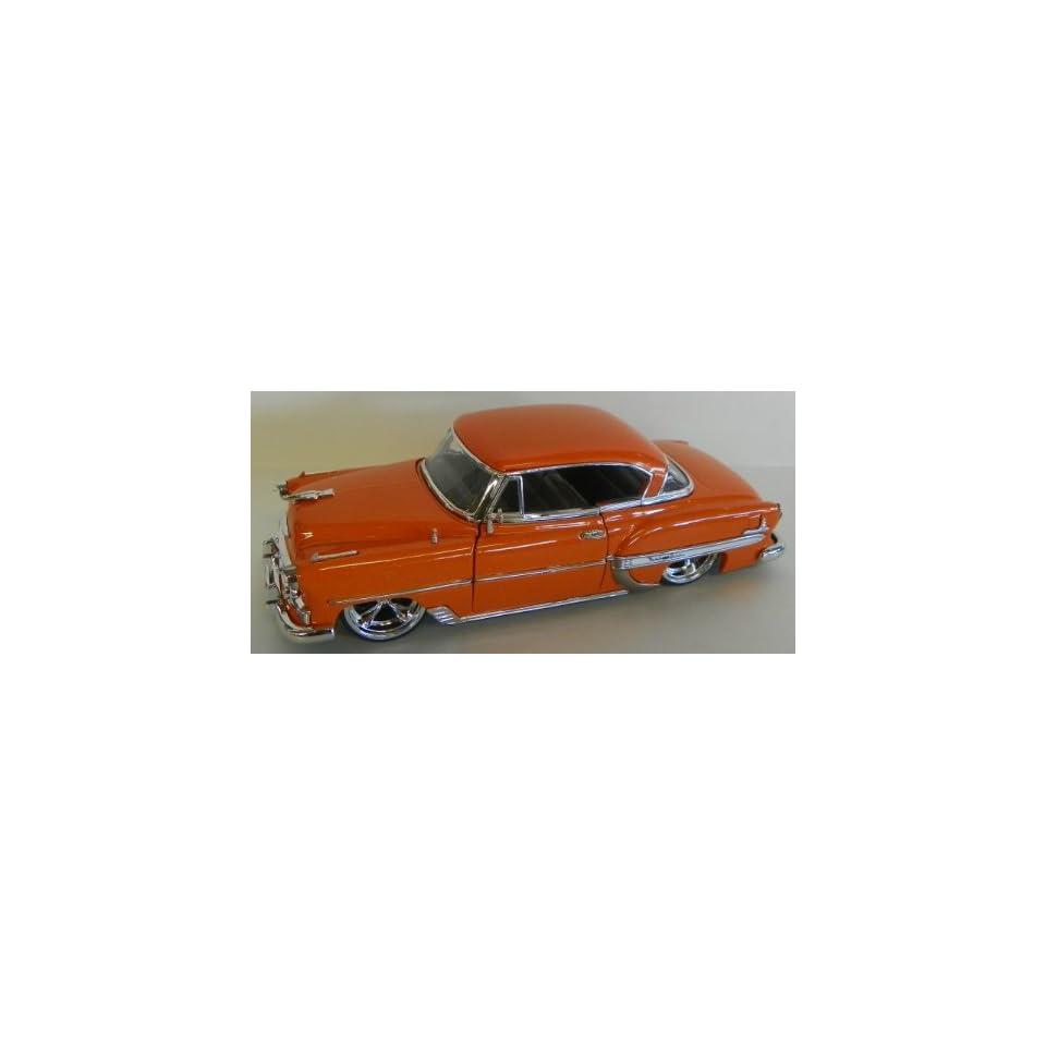 Jada Toys 1/24 Scale Diecast Big Time Kustoms 1953 Chevy Bel Air in Color Orange