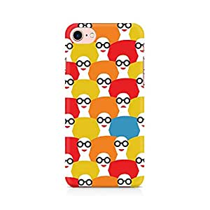 Mobicture Afro Chick Premium Printed Mobile Back Case Cover For Apple iPhone 7