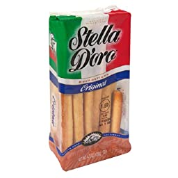 Stella D\'Oro Breadsticks, Original, 4.5-Ounce Packages (Pack of 12)
