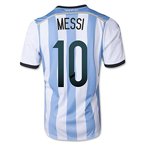 low priced 8ea88 0f74b 10 MESSI Argentina Home 2014 World Cup Kid Soccer Jersey ...