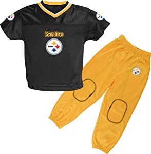 Reebok Pittsburgh Steelers Toddler (2T-4T) Jersey & Pant Set from SteelerMania