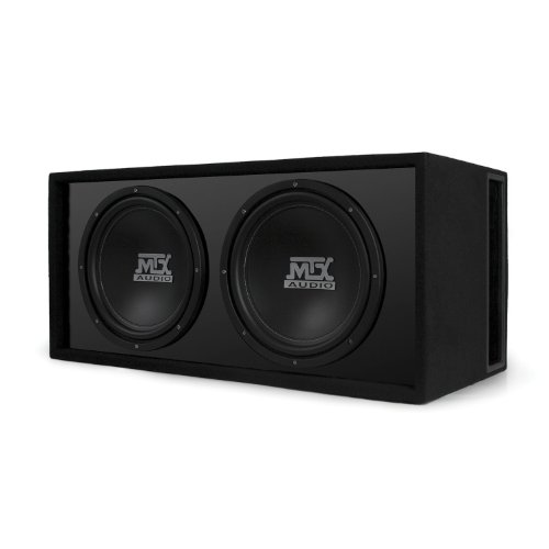 Mtx Audio Rtl12X2D Road Thunder Subwoofer Enclosure - Set Of 2